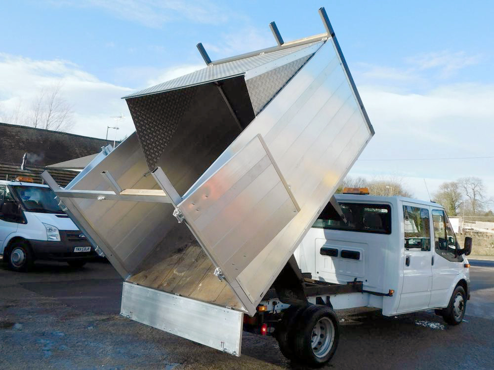 our tipper van